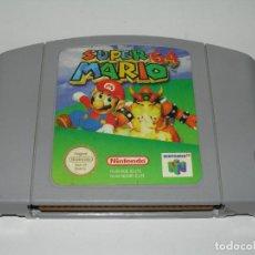 Videojuegos y Consolas: JUEGO SUPER MARIO 64 PARA CONSOLA NINTENDO 64 / N64 / NINTENDO64 - SÓLO CARTUCHO -. Lote 213666635