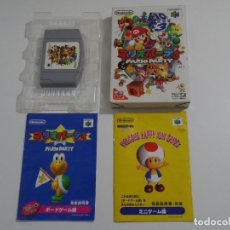 Videojuegos y Consolas: NINTENDO 64 JAPONÉS - MARIO PARTY COMO NUEVO N64 LIKE NEW. Lote 213939805