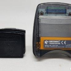 Videojuegos y Consolas: NINTENDO 64 JUMPER PAK Y TRANSFER PAK. Lote 214019648