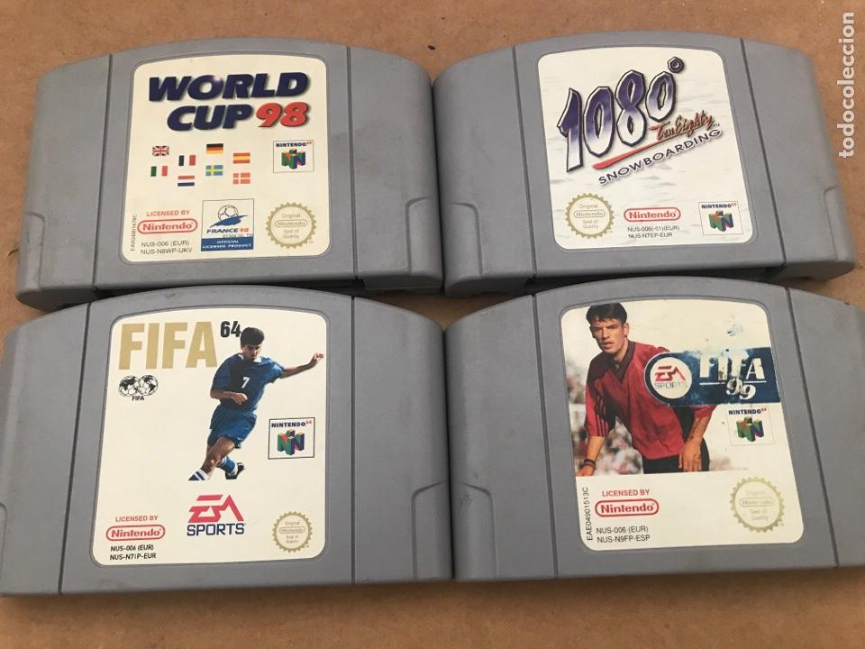 JUEGOS NINTENDO 64 (Juguetes - Videojuegos y Consolas - Nintendo - Nintendo 64)
