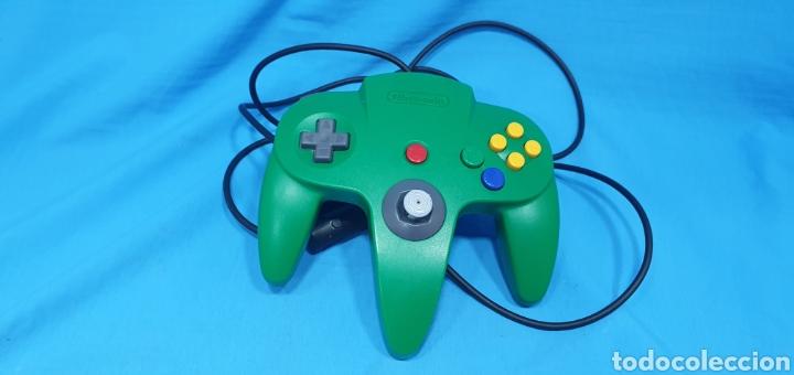 MANDO VERDE PARA NINTENDO 64 (Juguetes - Videojuegos y Consolas - Nintendo - Nintendo 64)