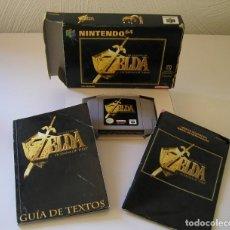 Videojogos e Consolas: ZELDA OCARINA OF TIME JUEGO PARA NINTENDO 64 N64 PAL COMPLETO Y TOTALMENTE ORIGINAL AÑO 1998. Lote 216626971