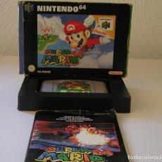 Videojogos e Consolas: SUPER MARIO 64 JUEGO PARA NINTENDO 64 N64 PAL COMPLETO Y TOTALMENTE ORIGINAL AÑO 1996. Lote 216628406