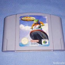 Videojuegos y Consolas: JUEGO WAVE RACE DE NINTENDO 64 ORIGINAL. Lote 216698962