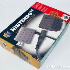 Videojuegos y Consolas: RF SWITCH / RF MODULATOR / ADAPTADOR DE ANTENA [NINTENDO 64] EDICIÓN EUROPEA [SNSP-003 NUS-003(EUR)]. Lote 217023120
