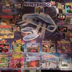 Videojuegos y Consolas: POSTER NINTENDO 64 Y GAMEBOY. Lote 218340991