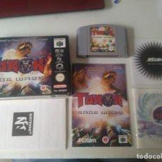 Videojuegos y Consolas: TUROK RAGE WARS PARA N64 ENTRA Y MIRA MIS OTROS JUEGOS!!. Lote 218522522