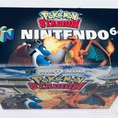 Videojuegos y Consolas: POKEMON STADIUM [HAL LABORATORY] [2000] NINTENDO 64 - N64 [PAL] EDICIÓN ESPAÑOLA. Lote 218805376