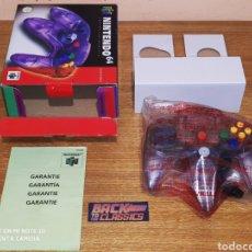 Videojuegos y Consolas: MANDO CLEAR PURPLE NINTENDO 64. Lote 218933191