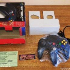 Videojuegos y Consolas: MANDO NEGRO NINTENDO 64. Lote 218987811