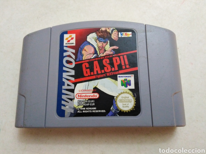 JUEGO NINTENDO 64 ( G.A.S.P!! ) (Juguetes - Videojuegos y Consolas - Nintendo - Nintendo 64)
