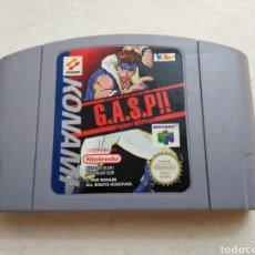 Videojuegos y Consolas: JUEGO NINTENDO 64 ( G.A.S.P!! ). Lote 227925060