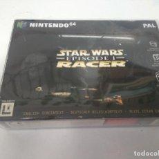 Videojuegos y Consolas: STARS WARS RACER N64 MIRE MIS OTROS JUEGOS NINTENDO SONY SEGA MEGADRIVE DREAMCAST SATURN SNES. Lote 219181787