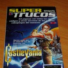 Videojuegos y Consolas: SUPER TRUCOS Nº 18 SUPERJUEGOS GUIA CASTLEVANIA 64 ZELDA DX NINTENDO. Lote 220680176