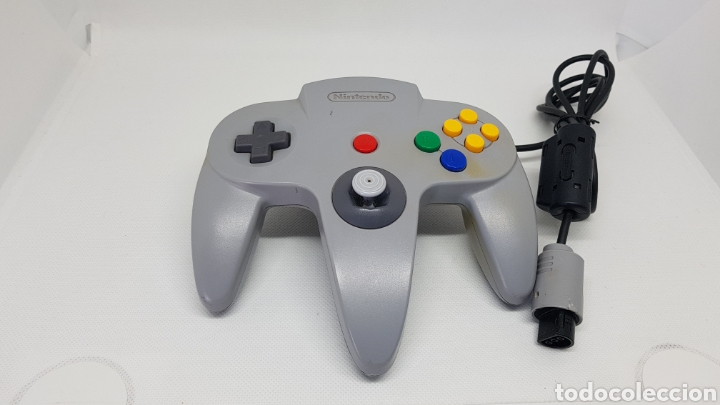 MANDO NINTENDO 64 (Juguetes - Videojuegos y Consolas - Nintendo - Nintendo 64)