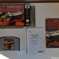 Videojogos e Consolas: TOP GEAR RALLY COMPLETO NINTENDO 64. Lote 221374808