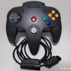 Videojuegos y Consolas: MANDO NINTENDO 64 NEGRO N64. Lote 221780070