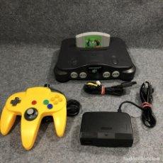 Videojuegos y Consolas: CONSOLA NINTENDO 64+MARIO TENNIS 64+MANDO+AV+AC. Lote 222252277