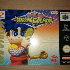 Videojuegos y Consolas: MYSTICAL NINJA STARRING GOEMON NINTENDO 64 PAL VERSION COMO NUEVO. Lote 223648017