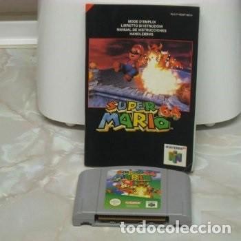 JUEGO NINTENDO 64 SUPER MARIO BROSS (1997) CARTUCHO Y LIBRO DE INSTRUCCIONES (FALTA LA CAJA) (Juguetes - Videojuegos y Consolas - Nintendo - Nintendo 64)