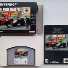 Videojogos e Consolas: F-1 WORLD GRAND PRIX II 2 COMPLETO NINTENDO 64. Lote 225810268