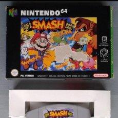 Videojuegos y Consolas: NINTENDO 64 SUPER SMASH BROS. INCLUYE CAJA BOXED BUEN ESTADO PAL EUR N64 R11790. Lote 226467135
