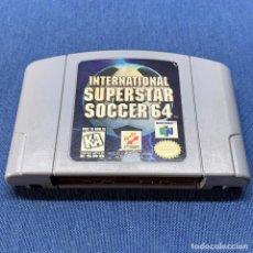 Videojuegos y Consolas: JUEGO NINTENDO 64 -INTERNATIONAL SUPERSTAR SOCCER 64 - USA. Lote 228095245