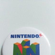 Videojuegos y Consolas: CHAPA DE NINTENDO 64 - IMAN DE 58MM. Lote 228388260