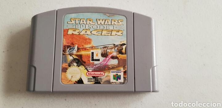 N64 NINTENDO 64 JUEGO STAR WARS EPISODE I RACER PAL (Juguetes - Videojuegos y Consolas - Nintendo - Nintendo 64)