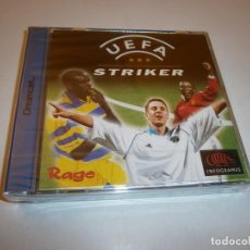 Videogiochi e Consoli: UEFA STRIKER PAL DREAMCAST PAL NUEVA PRECINTADO. Lote 232078955