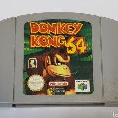 Videojuegos y Consolas: DONKEY KONG 64 - NINTENDO 64. Lote 232534050