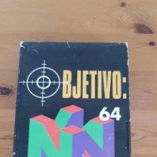 Videojuegos y Consolas: OBJETIVO 64 LA CUENTA ATRAS HA COMENZADO, VIDEO PROMOCIONAL DE JUEGO NINTENDO, CINTA DE VIDEO VHS. Lote 233104275