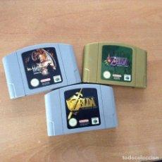 Videojuegos y Consolas: 3 JUEGOS DE NINTENDO 64. Lote 233373205
