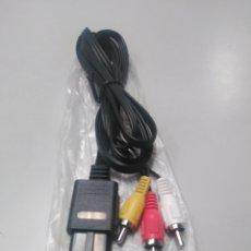 Videojuegos y Consolas: CABLE AV RCA EUROCONECTOR SNES N64 GC. Lote 234407710