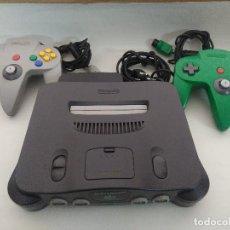 Videojuegos y Consolas: CONSOLA NINTENDO 64 CON DOS MANDOS.. Lote 234919755