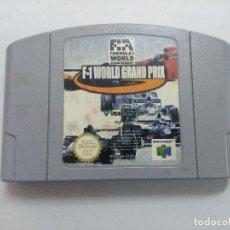Videojuegos y Consolas: F-1 WORLD GRAND PRIX/CARTUCHO JUEGO NINTENDO 64 .. Lote 234921915