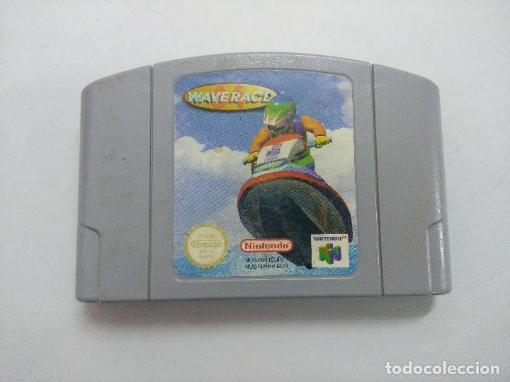 WAVERACE/CARTUCHO JUEGO NINTENDO 64 . (Juguetes - Videojuegos y Consolas - Nintendo - Nintendo 64)
