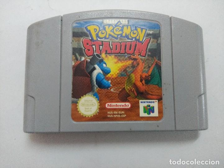 POKEMON STADIUM/CARTUCHO JUEGO NINTENDO 64 . (Juguetes - Videojuegos y Consolas - Nintendo - Nintendo 64)