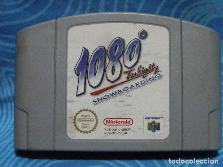 Videojuegos y Consolas: JUEGO DE NINTENDO 1080 SNOWBOARDING - Foto 4 - 235131630
