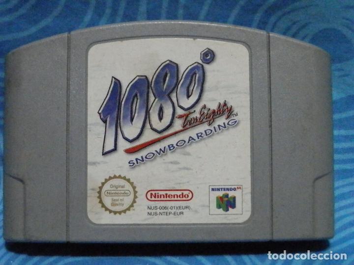 JUEGO DE NINTENDO 1080 SNOWBOARDING (Juguetes - Videojuegos y Consolas - Nintendo - Nintendo 64)
