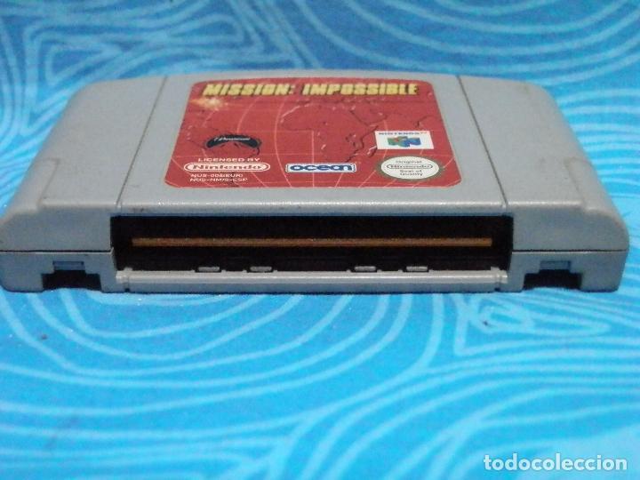 Videojuegos y Consolas: JUEGO DE NINTENDO 64 MISSION IMPOSSIBLE - Foto 3 - 235140010