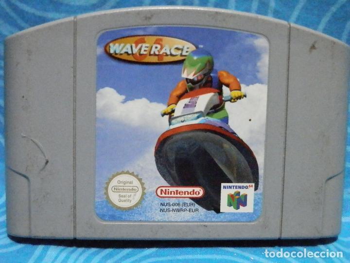 JUEGO DE NINTENDO 64 WAVE RACE (Juguetes - Videojuegos y Consolas - Nintendo - Nintendo 64)