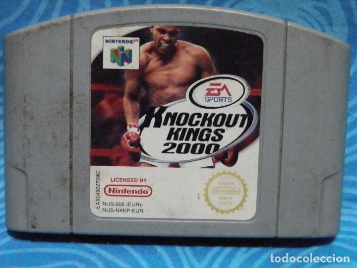 Videojuegos y Consolas: JUEGO DE NINTENDO 64 KNOCKOUT KINGS 2000 - Foto 4 - 235144245