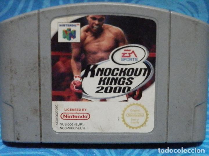 JUEGO DE NINTENDO 64 KNOCKOUT KINGS 2000 (Juguetes - Videojuegos y Consolas - Nintendo - Nintendo 64)