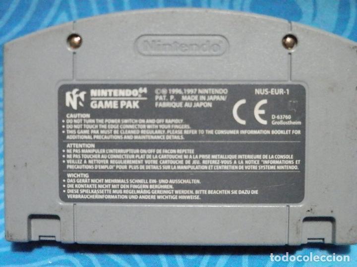 Videojuegos y Consolas: JUEGO DE NINTENDO 64 SUPERMARIO - Foto 3 - 235145395
