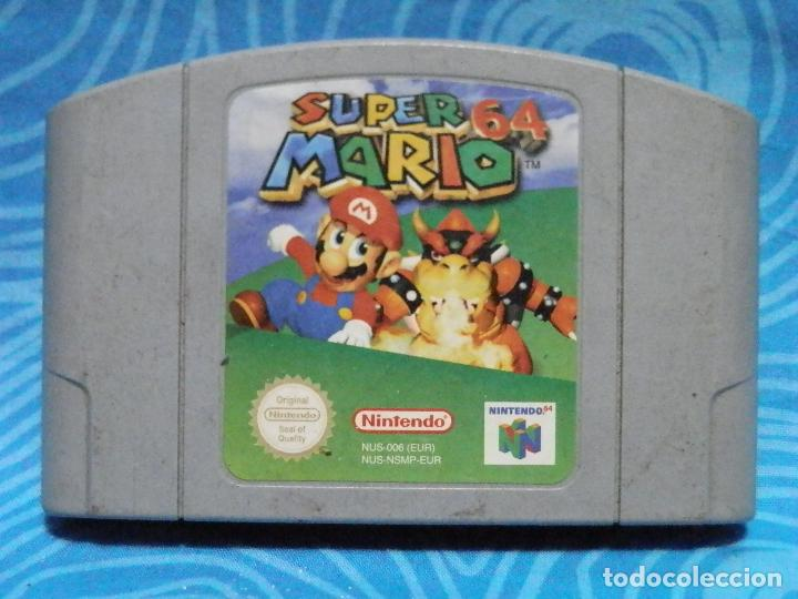 JUEGO DE NINTENDO 64 SUPERMARIO (Juguetes - Videojuegos y Consolas - Nintendo - Nintendo 64)