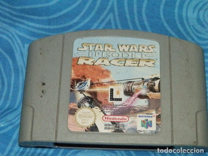 Videojuegos y Consolas: JUEGO DE NINTENDO 64 STAR WARS RACE EPISODE 1 - Foto 4 - 235146225