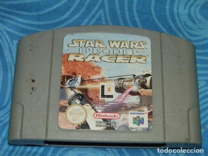 JUEGO DE NINTENDO 64 STAR WARS RACE EPISODE 1 (Juguetes - Videojuegos y Consolas - Nintendo - Nintendo 64)