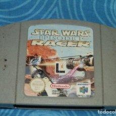 Videojuegos y Consolas: JUEGO DE NINTENDO 64 STAR WARS RACE EPISODE 1. Lote 235146225