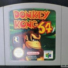 Videojuegos y Consolas: DONKEY KONG 64 ORIGINAL PAL NINTENDO 64 N64. Lote 235617990
